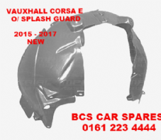 VAUXHALL  CORSA  E  DRIVERS SIDE SPLASH GUARD  FRONT   2015 - 2016 - 2017